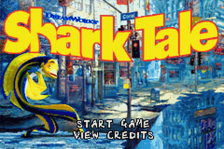 Shark Tale title screenshot