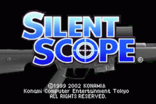 Silent Scope title screenshot