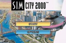 Sim City 2000 title screenshot