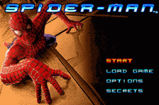 Spider-Man title screenshot