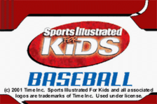 Sports Illustrated for Kids - Baseball title screenshot