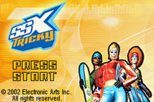 SSX Tricky title screenshot