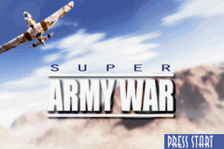 Super Army War title screenshot