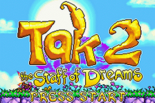 Tak 2 - The Staff of Dreams title screenshot