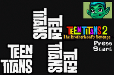 Teen Titans 2 title screenshot