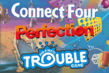 Three-in-One Pack - Connect Four + Perfection + Trouble title screenshot