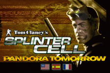 Tom Clancy's Splinter Cell - Pandora Tomorrow title screenshot