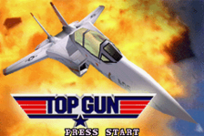 Top Gun - Firestorm Advance title screenshot