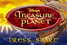 Treasure Planet title screenshot