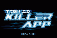 Tron 2.0 - Killer App title screenshot