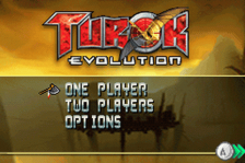 Turok Evolution title screenshot