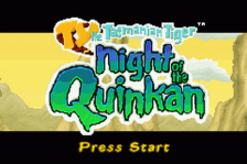 Ty the Tasmanian Tiger 3 - Night of the Quinkan title screenshot