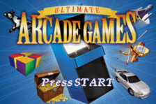 Ultimate Arcade Games title screenshot