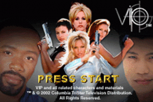 V.I.P. title screenshot
