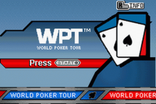 World Poker Tour title screenshot