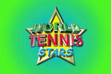 World Tennis Stars title screenshot