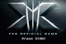 X-Men - The Official Game title screenshot