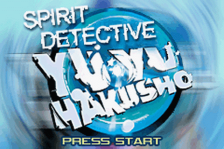 Yu Yu Hakusho - Ghostfiles - Spirit Detective title screenshot