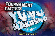 Yu Yu Hakusho - Ghostfiles - Tournament Tactics title screenshot