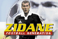 Zidane Football Generation title screenshot