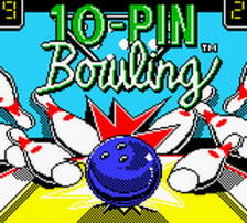 10-Pin Bowling title screenshot