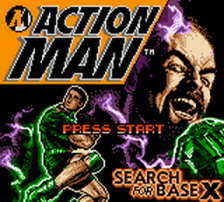 Action Man - Search for Base X title screenshot