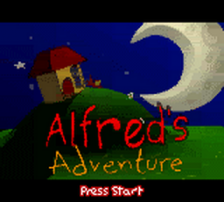 Alfred's Adventure title screenshot