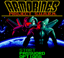 Armorines - Project S.W.A.R.M. title screenshot