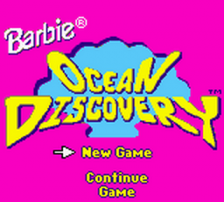 Barbie - Ocean Discovery title screenshot