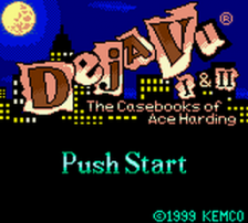 Deja Vu I & II - The Casebooks of Ace Harding title screenshot