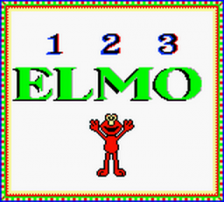 Elmo's 123s title screenshot