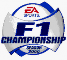 F1 Championship Season 2000 title screenshot