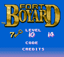 Fort Boyard title screenshot