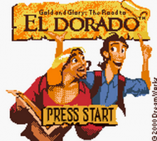 Gold and Glory - The Road to El Dorado title screenshot