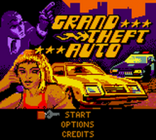 Grand Theft Auto title screenshot