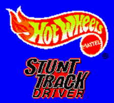 Hot Wheels - Stunt Track Driver title screenshot