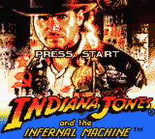 Indiana Jones and the Infernal Machine title screenshot