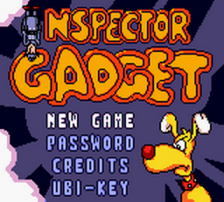 Inspector Gadget - Operation Madkactus title screenshot