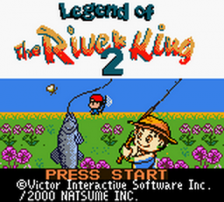Legend of the River King 2 title screenshot