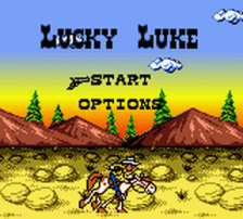 Lucky Luke title screenshot