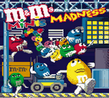 M&M's Minis Madness title screenshot