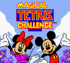 Magical Tetris Challenge title screenshot
