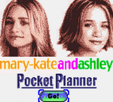 Mary-Kate and Ashley - Pocket Planner title screenshot