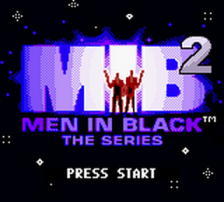 Men in Black 2 - The Series title screenshot