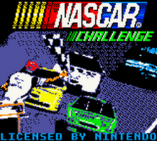NASCAR Challenge title screenshot