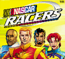 NASCAR Racers title screenshot