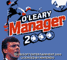 O'Leary Manager 2000 title screenshot