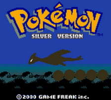 Pokemon - Silver Version title screenshot