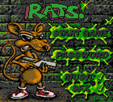Rats! title screenshot