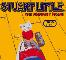 Stuart Little - The Journey Home title screenshot